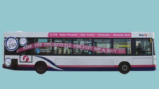 Worcester Uni First Bus