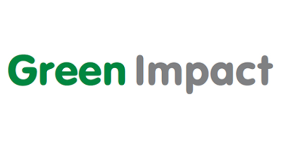 Green Impact logo text only