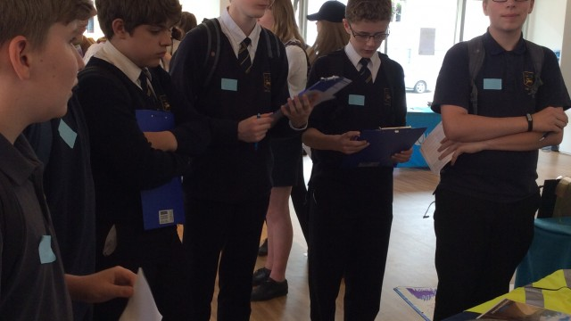 Pupils engaged with Speller Metcalfe