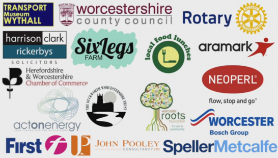 Businesses that attended Skills for Tomorrow in 2016