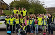 Heart Of Worcestershire College Litterpick