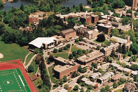 WPI campus Massachusetts USA