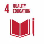 Icon for Sustainable Development Goal Number 4: Quality Education