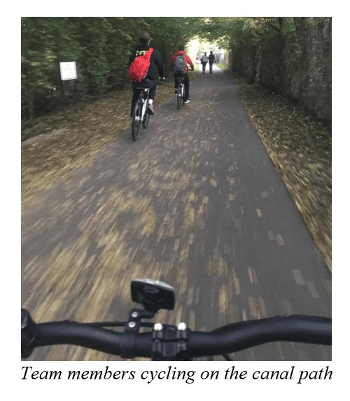 Riding a Woo bike