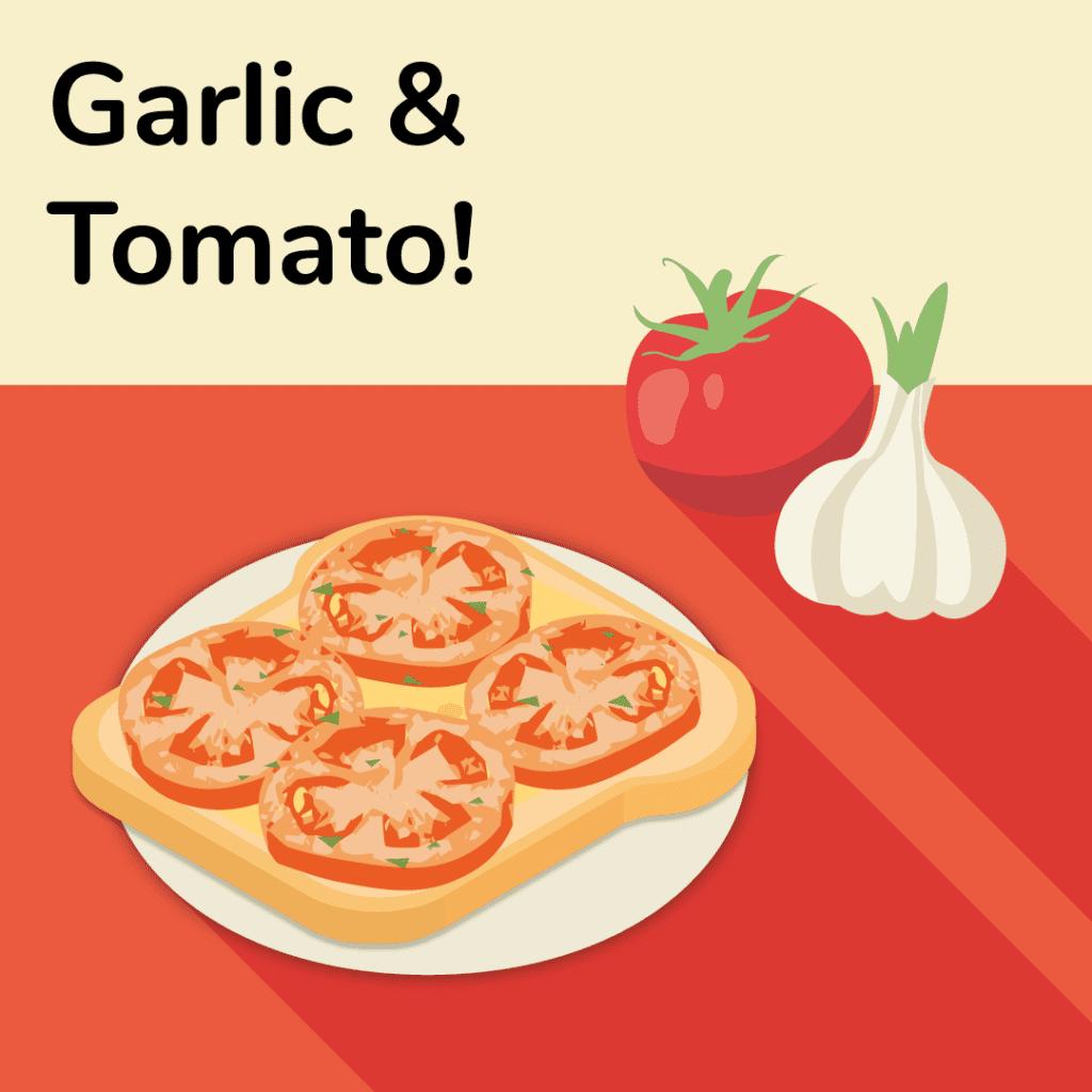 vegetarian-sandwich-ideas-garlic-and-tomato