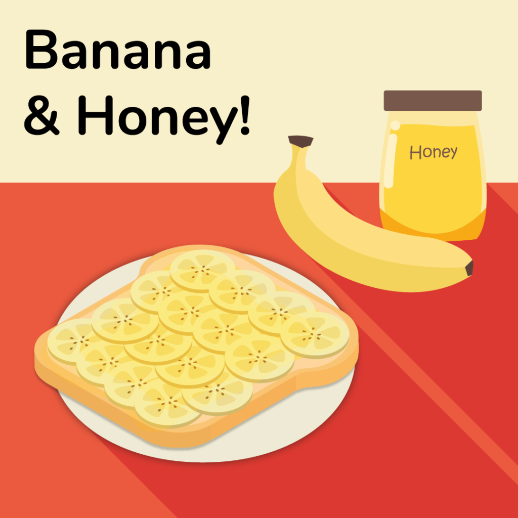 vegetarian-sandwich-ideas-banana-and-honey