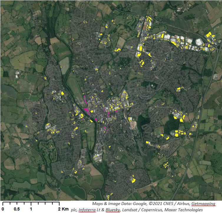 Mapping-PNR-parking-for-reuse-map-of-parking-facilities-in-Worcester-city-centre